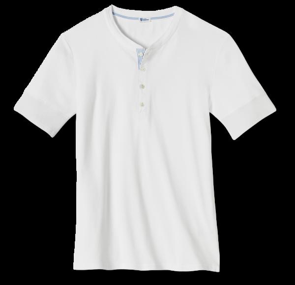 Schiesser Revival - 1/2 sleeve Shirt KARL-HEINZ white