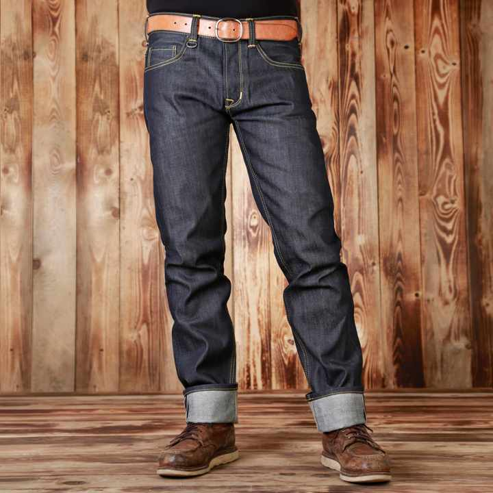 a8b6abcbb3cd8a Pike Brothers 1963 Roamer Pant - Klassische 60er Jahre Workwear Jeans