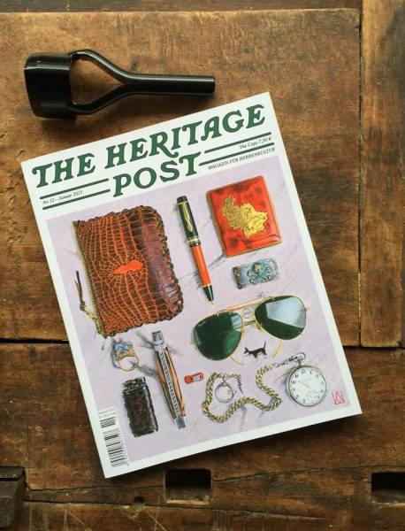 The Heritage Post No. 12 - Januar 2015 - Magazin für Herrenkultur