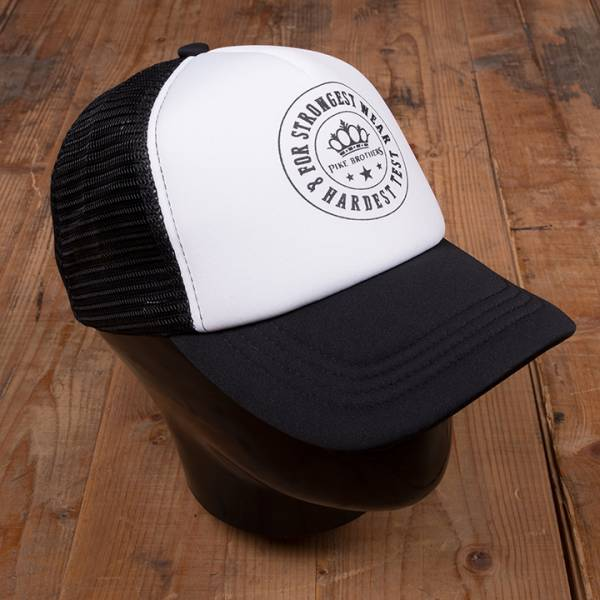 Pike Brothers 1967 Trucker Cap PB Logo black